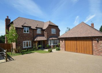 Thumbnail 5 bed detached house for sale in Lower Church Road, Sandhurst