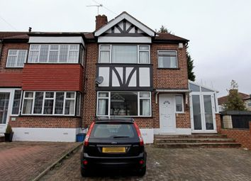 Thumbnail 5 bedroom end terrace house to rent in Glastonbury Ave, Woodford Green