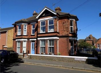 Thumbnail 1 bedroom flat for sale in Grosvenor Road, Broadstairs