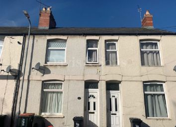 Thumbnail 2 bed terraced house for sale in Agincourt Street, Newport, Gwent.