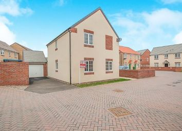 Thumbnail 3 bedroom detached house for sale in Felix Close, Cardea, Peterborough, Cambridgeshire