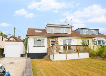 Thumbnail 3 bed semi-detached house for sale in Treworden Close, Stratton, Bude, Cornwall