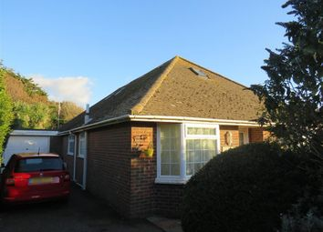 Thumbnail 4 bed bungalow for sale in Central Avenue, Telscombe Cliffs, Peacehaven