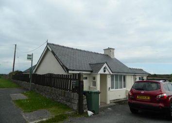 Thumbnail 3 bed bungalow for sale in Abererch Road, Pwllheli, Gwynedd