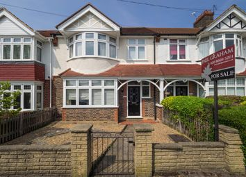Thumbnail 3 bed terraced house for sale in Godalming Avenue, Wallington
