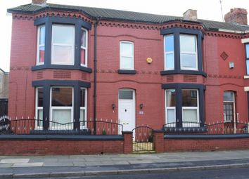 Thumbnail 5 bed end terrace house for sale in Scarisbrick Avenue, Liverpool