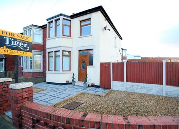 Thumbnail 3 bed semi-detached house for sale in Marcroft Avenue, Blackpool, Lancashire