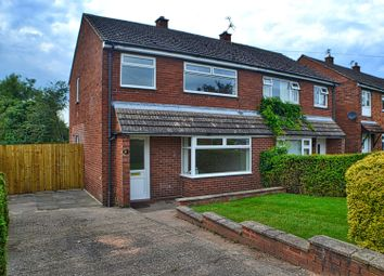 Thumbnail 3 bed semi-detached house for sale in Palmer Road, Sandbach