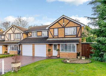 Thumbnail 4 bed detached house for sale in Tinsey Close, Egham, Surrey