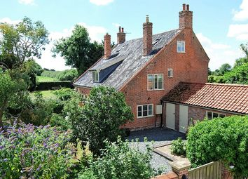 Thumbnail 5 bedroom detached house for sale in Halesworth Road, Ilketshall St Lawrence