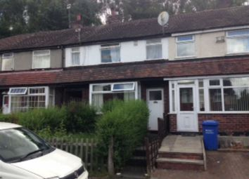 Thumbnail 2 bed terraced house to rent in Somerfield Road, Blackley, Manchester