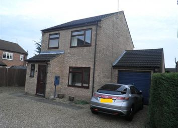 Thumbnail 3 bed detached house for sale in Oak Road, Sleaford