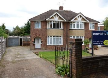 Thumbnail 3 bed semi-detached house for sale in Frimley Close, Woodley, Reading