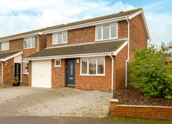 Thumbnail 4 bed detached house for sale in Gage Close, Royston