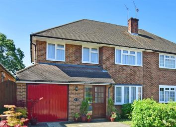 Thumbnail 4 bed semi-detached house for sale in Bramley Way, Ashtead, Surrey