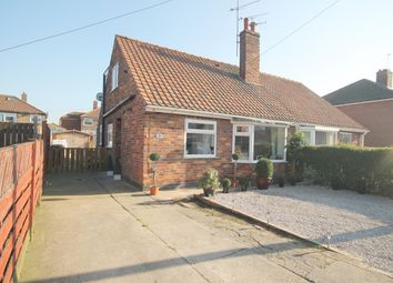 Thumbnail 3 bed semi-detached bungalow for sale in Minster Avenue, York