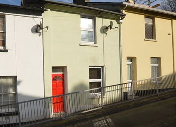 Thumbnail 2 bed terraced house for sale in Tudor Road, Newton Abbot, Devon.