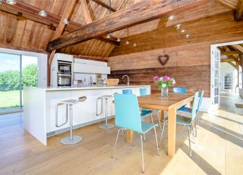 Thumbnail 6 bedroom barn conversion for sale in The Green, Lyford, Oxfordshire