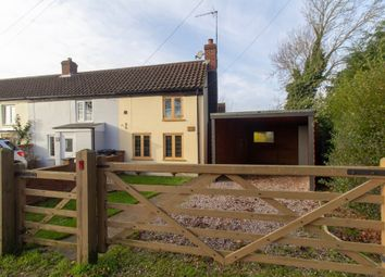 Thumbnail 1 bed end terrace house for sale in Church Road, Tilney St. Lawrence, King's Lynn