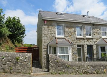 Thumbnail 2 bed semi-detached house for sale in Ludgvan, Penzance