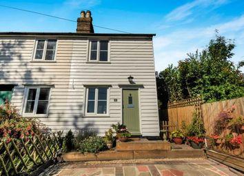 Thumbnail 2 bedroom semi-detached house for sale in Elm Cottages, Swanley Village Road, Swanley, Kent