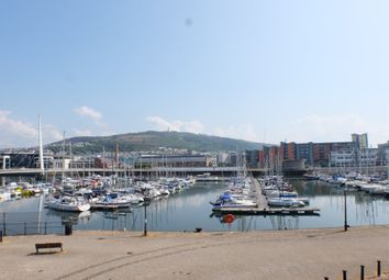 Thumbnail 3 bed flat to rent in Pocketts Wharf, Marina, Swansea