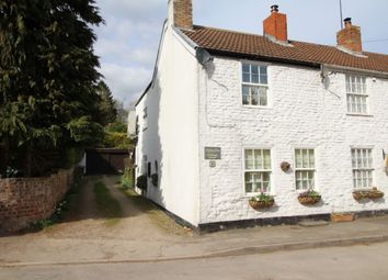Thumbnail 2 bed terraced house for sale in New Row Sledmere Road, Langtoft, Driffield