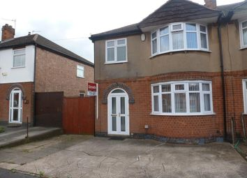 Thumbnail 3 bed semi-detached house to rent in Croft Drive, Wigston