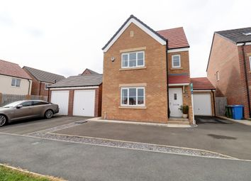 Thumbnail 4 bed detached house for sale in Richmond Court, Wright Street, Blyth