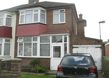 Thumbnail 3 bed semi-detached house to rent in Wemborough Road, Stanmore