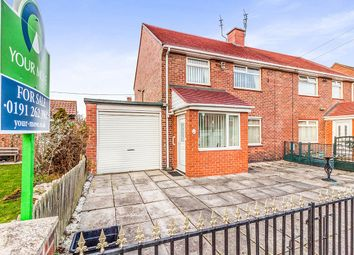 Thumbnail 3 bed semi-detached house for sale in Cambridge Avenue, Wallsend
