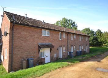 Thumbnail 1 bed terraced house to rent in Brightwell Close, Felixstowe