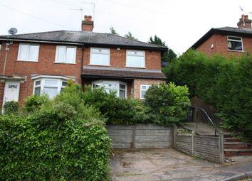 Thumbnail 3 bed semi-detached house to rent in Porlock Crescent, Northfield, Birmingham