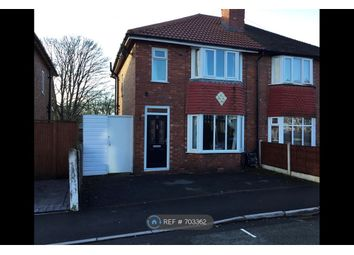 Thumbnail 3 bed semi-detached house to rent in Beech Avenue, Hazel Grove, Stockport