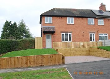 Thumbnail 3 bed semi-detached house to rent in Rosliston Road, Walton-On-Trent, Swadlincote