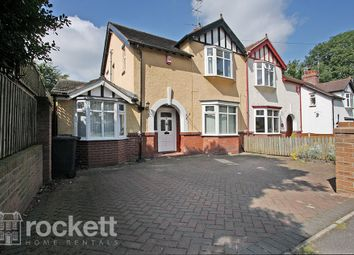 Thumbnail 4 bed semi-detached house to rent in Pilkington Avenue, Newcastle-Under-Lyme