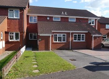 Thumbnail 3 bedroom terraced house to rent in Colehill Cresent, Bournemouth