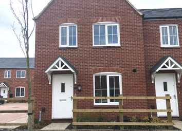 Thumbnail 3 bedroom end terrace house for sale in Liberty Gardens, Barkby Road, Syston, Leicestershire