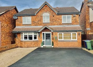Thumbnail 4 bed detached house to rent in Brisbane Way, Cannock