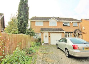 Thumbnail 3 bed semi-detached house for sale in Evesham Close, Castledean, Bournemouth