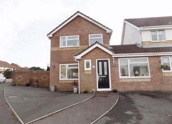 Thumbnail 3 bed link-detached house for sale in Rowans Lane, Bryncethin, Bridgend.