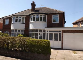 Thumbnail 3 bed semi-detached house to rent in Stonor Road, Hall Green, Birmingham
