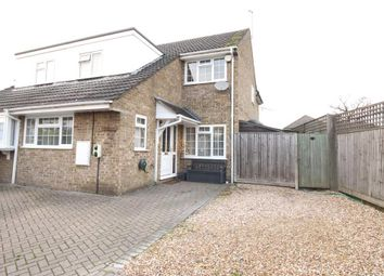 Thumbnail 4 bed semi-detached house for sale in Harvest Close, Tilehurst, Reading