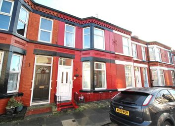 Thumbnail 3 bed terraced house for sale in Windbourne Road, Aigburth, Liverpool, Merseyside