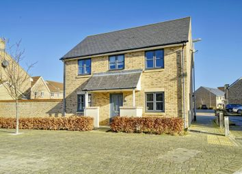 Thumbnail 3 bed detached house for sale in Fox Brook, St. Neots