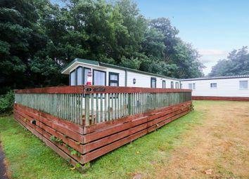 3 bed lodge for sale in Oakcliff Park, Mount Pleasant Road, Dawlish Warren, Dawlish EX7