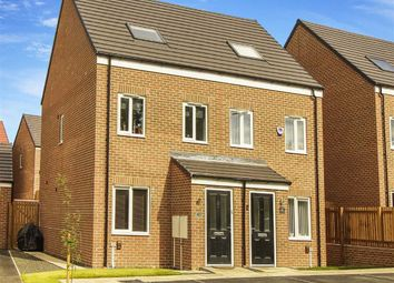 Thumbnail 3 bedroom semi-detached house for sale in Somersby Gardens, Cramlington, Northumberland