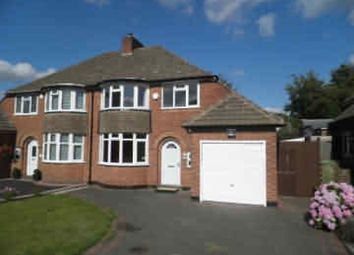 Thumbnail 3 bed semi-detached house to rent in Chester Road, Streetly, Sutton Coldfield
