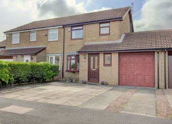 Thumbnail 3 bed semi-detached house for sale in Hazelmere Crescent, Cramlington