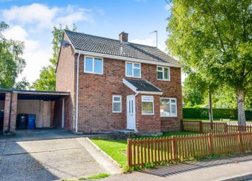 Thumbnail 3 bed detached house to rent in Chestnut Road, Glemsford, Sudbury